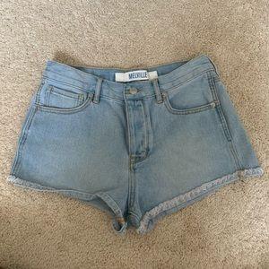 Size 28 Brandy Melville Jean Shorts